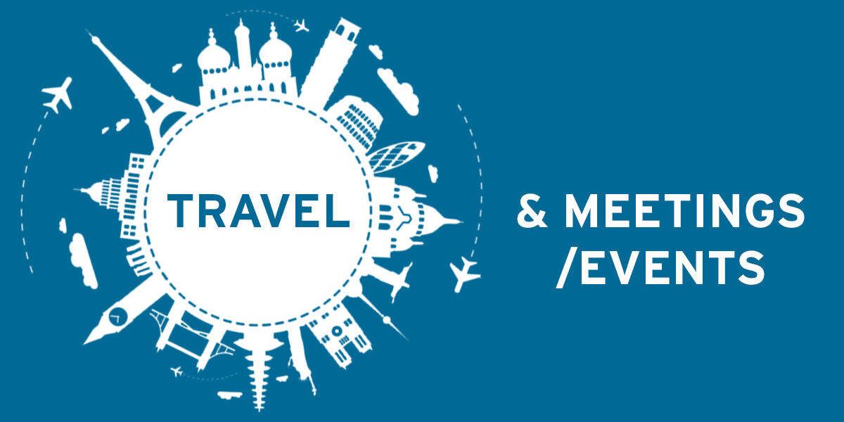 Travel and Meetings/Events