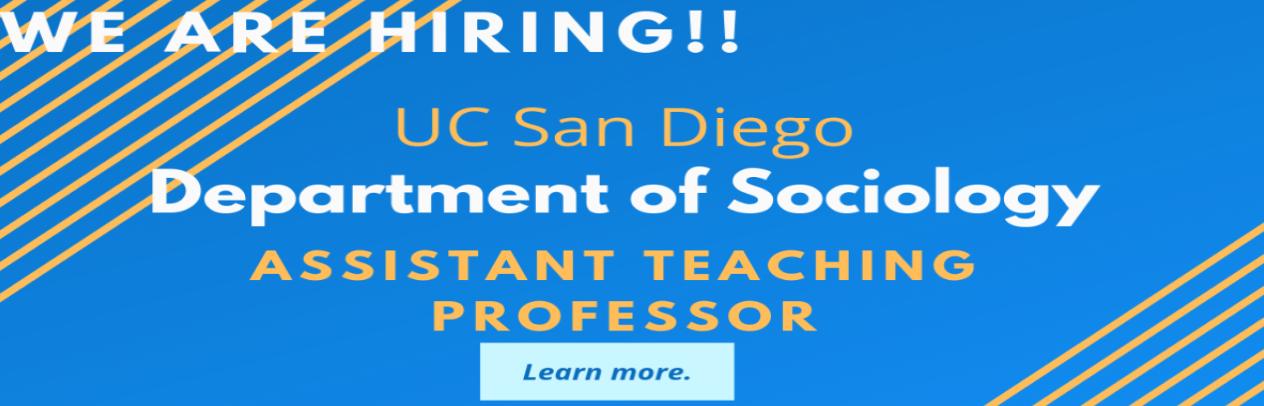 UC San Diego Sociology home page